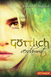 """Cover des Buches """"Göttlich verdammt"""""""