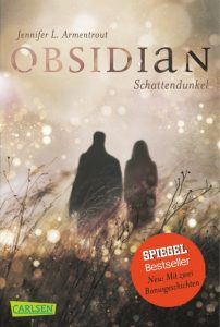 "Cover des Buches ""Obsidian - Schattendunkel"""