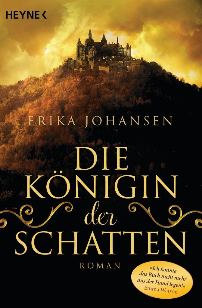 """Cover des Buches """"Die Königin der Schatten"""" von Erika Johansen"""