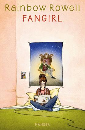 "Cover des Buches ""Fangirl"" von Rainbow Rowell"